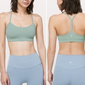 Lululemon Flow Y Bra *Nulu : Palm Court size 8